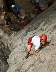 Climbing is a Great Metaphor for the Fight Against Ovarian Cancer