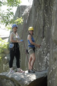 Having Fun at the Crag